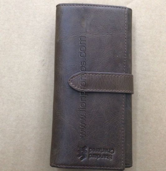 Standard Chartered Bank Women Leather Purse pictures & photos