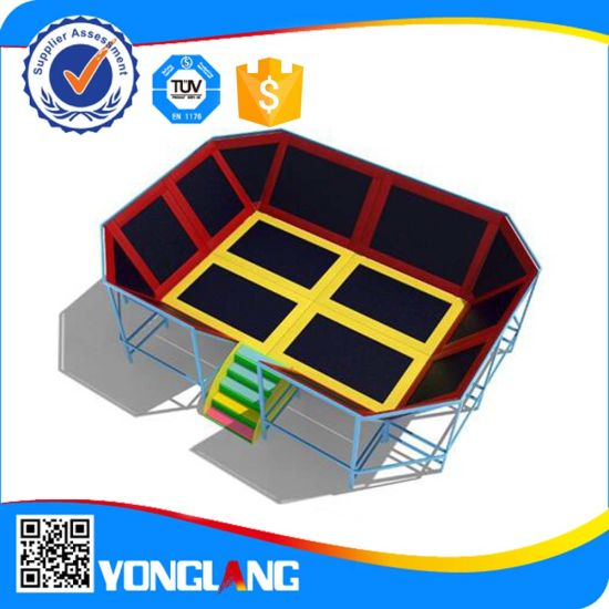 2015 Outdoor Amusement Park Benefitial Trampoline for Children (YL-BC003) pictures & photos