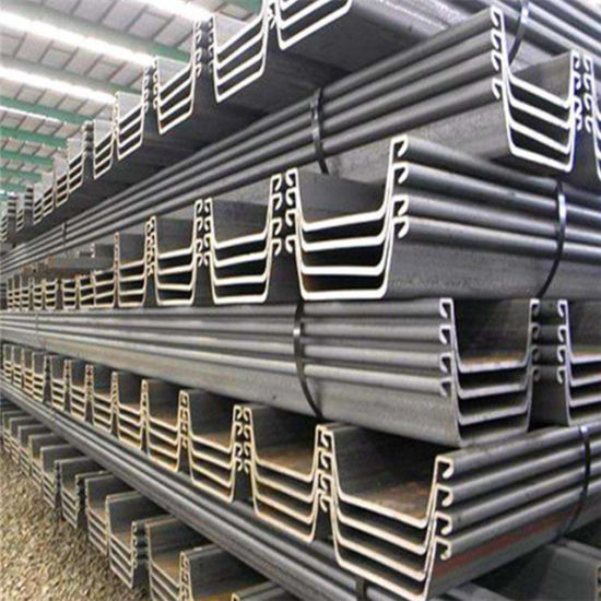 China Q235 Water-Resisting U Type Hot Rolled Used Steel Sheet Pile