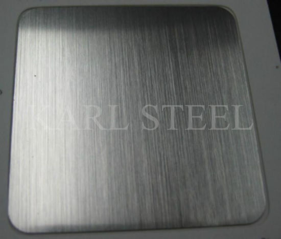 High Quality 201 Stainless Steel Color Ket010 Hlsheet pictures & photos