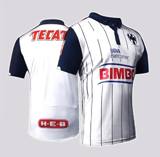 6d8c2a9fa 2015-16 Monterey Mexico Second Away Jersey Football Suit pictures   photos