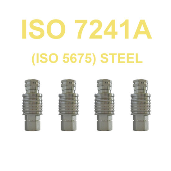 Agriculture Equipment Parts Hydraulic Quick Couplings ISO 7241 a
