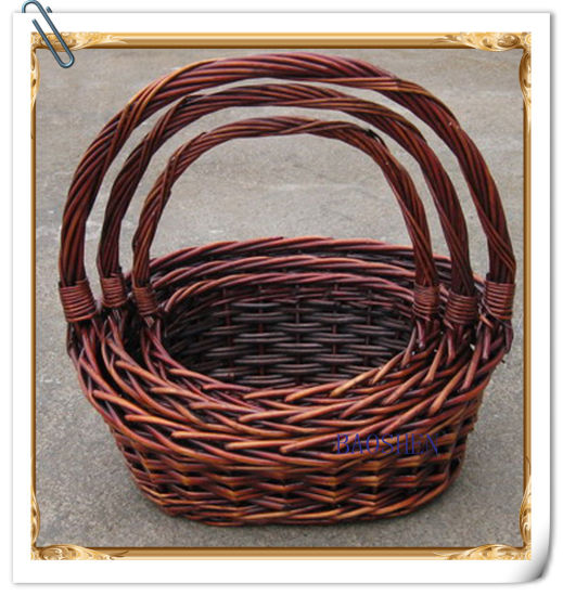 Customized Wicker Fruit Basket pictures & photos