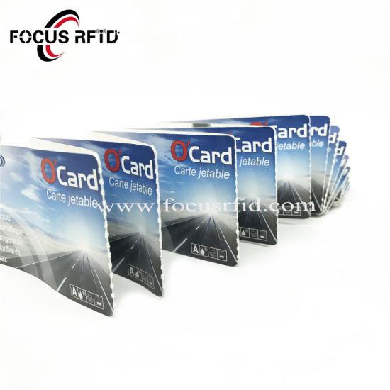 Ultralight Ntag213/Ntag215/Ntag216 Chip RFID Paper Card