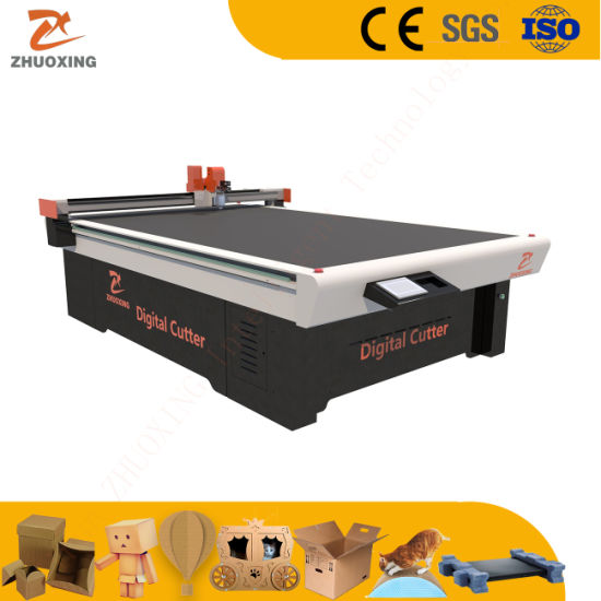 Automatic Inlays, Backpack, System Packaging Making Machine CNC Digital Cutting Machine Ce Cutter Factory