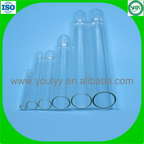 10mm 75mm Glass Test Tubes for Lab pictures & photos
