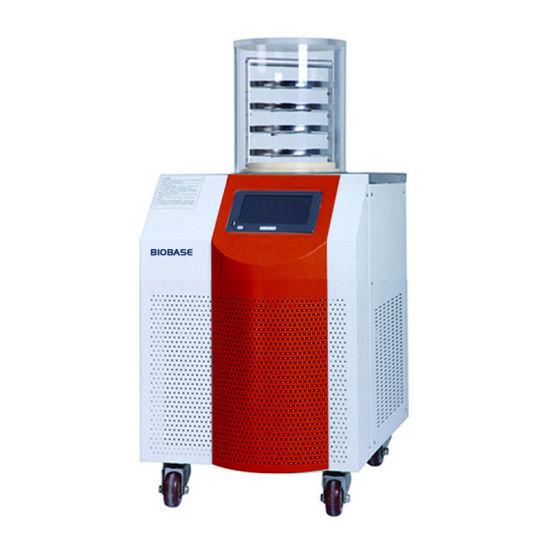 China Biobase Vertical Type Lab Use Lyophilizer Freeze Dryer