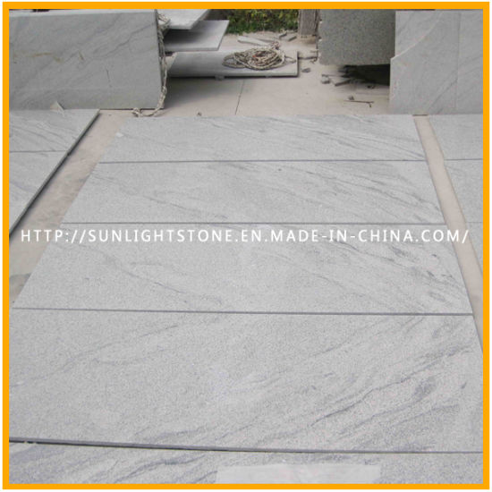 Polished Viscont White Granite Paving/Patio/Garden Slabs for Tiles pictures & photos