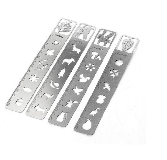 2020 Creative Design Stainless Steel Ruler