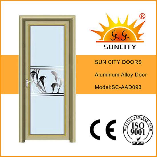 Cheapest Shower Stall Aluminum Glass Doors (SC-AAD093)