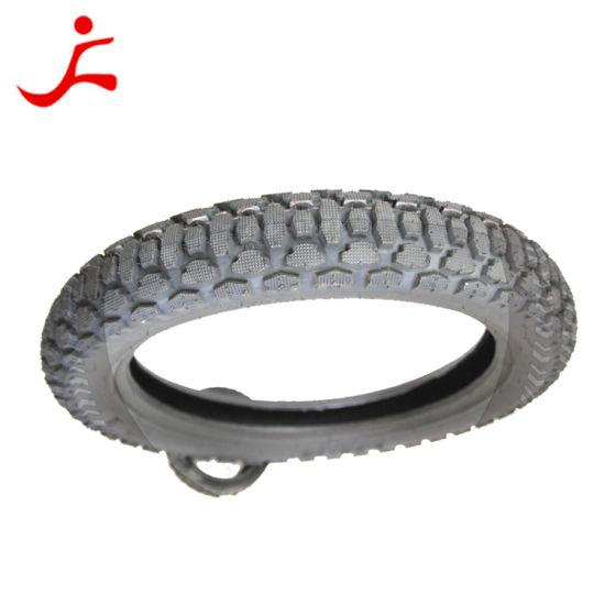 Nylon Bias Tire Tubeless Motorcycle Tyre (3.50-16)