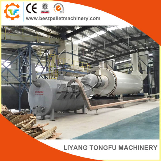 Biomass/Wood Chip/Sawdust Rotary Drying/Dryer Equipment