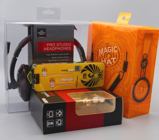 Clamshell Earphone Plastic Packaging