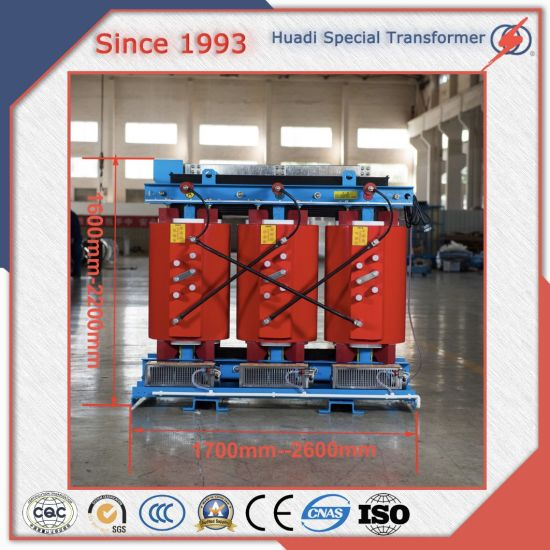 Epoxy Resin Cast 10kv 30-2500kVA 3 Phase Power Frequency Distribution Dry Type Transformer