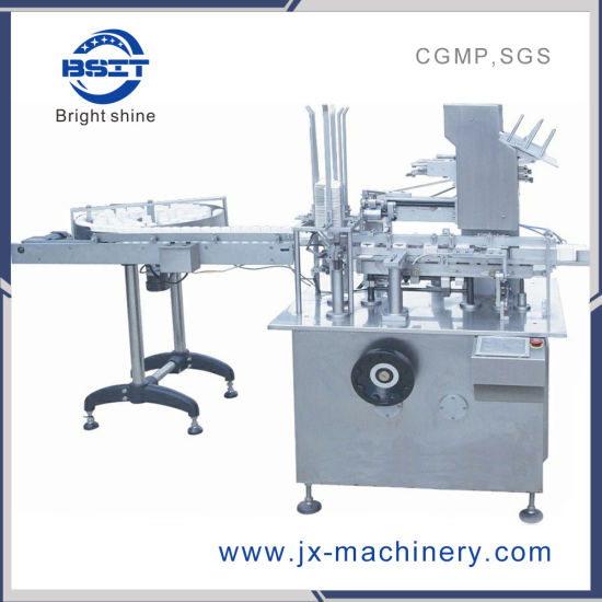 Smz -125 Bottle Box Carton Sealer Packing Machine for GMP Standards