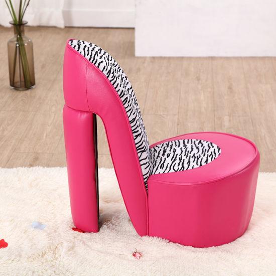 Kids High Heel Shoe Chair Furniture