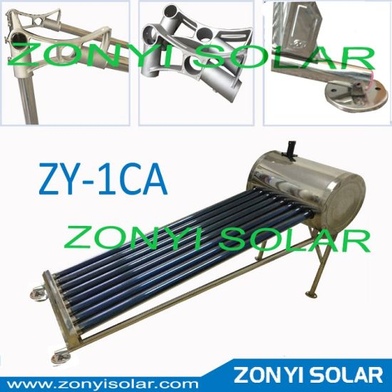 Frame for Solar Water Heater with Stainless Material