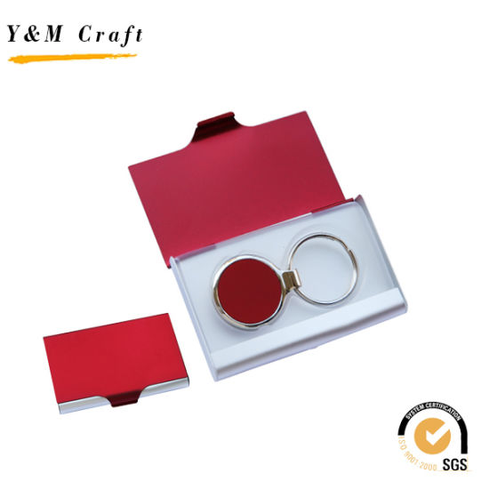 China Gift Set With Business Card Holder And Keychain China Gift