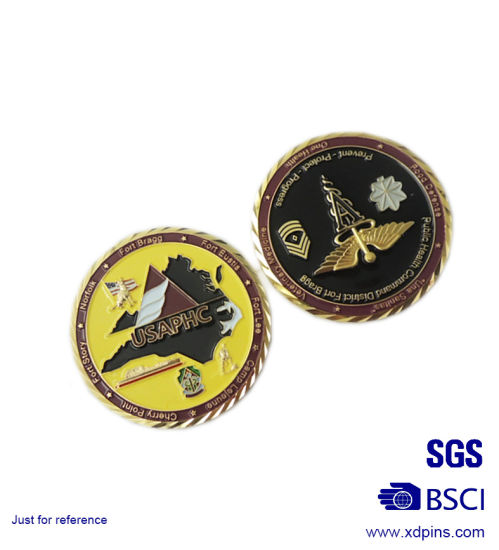 Customized Die Cut Challenge Souvenir Coins for Gift (xd-mc-01) pictures & photos