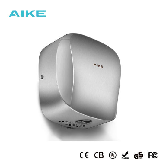 HEPA Fliter Stainless Steel High Speed Automatic Wall Mounted Hand Dryer
