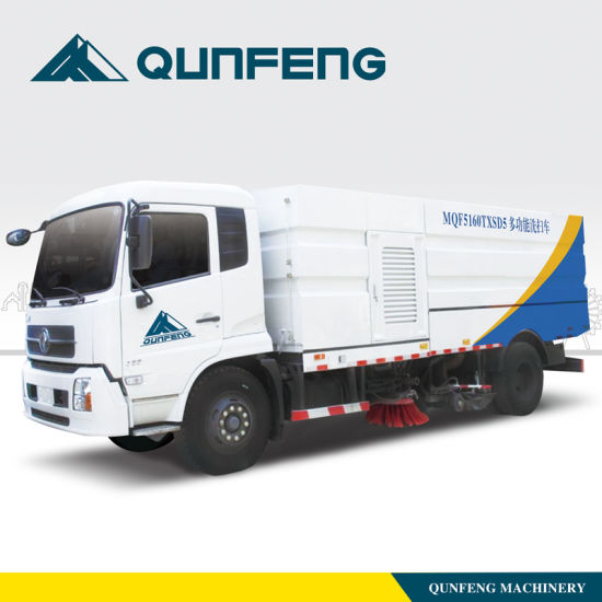 Road Cleaning and Washing Truck