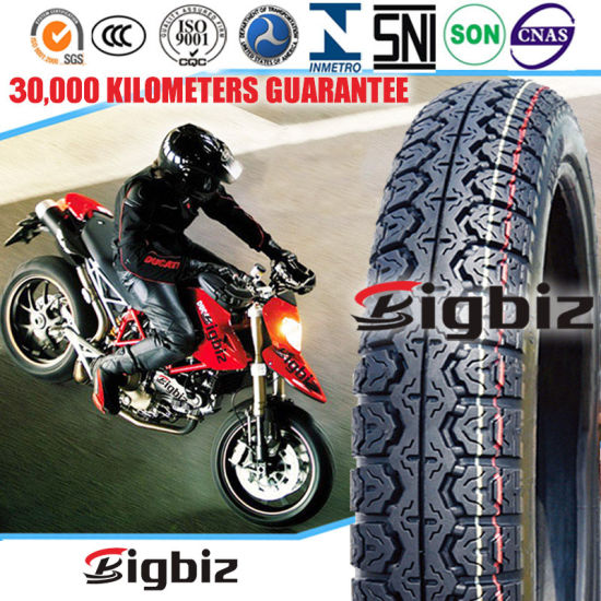 ISO9001: 2008 Top Quality Tubeless Motorcycle Tire