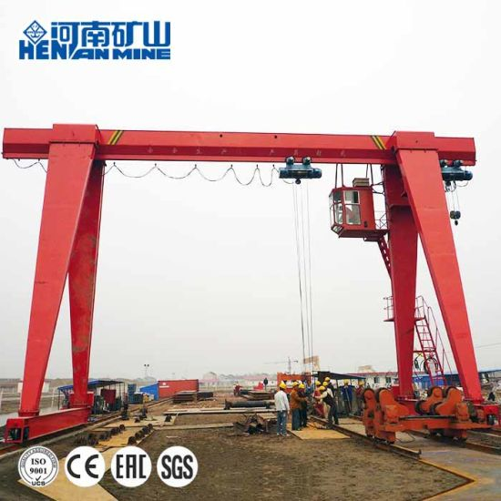 Henan Mine Mh Type 3~20tons Electric Hoist Gantry Crane