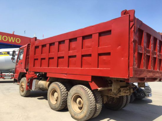 Second Hand HOWO Tipper Truck 10 Wheel 6*4