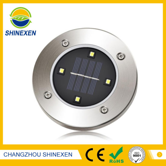 4LED Waterproof Solar Panel Light pictures & photos