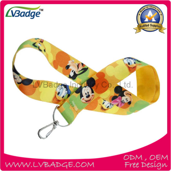 Factory Custom Printed Lanyard for Promotion Gift pictures & photos