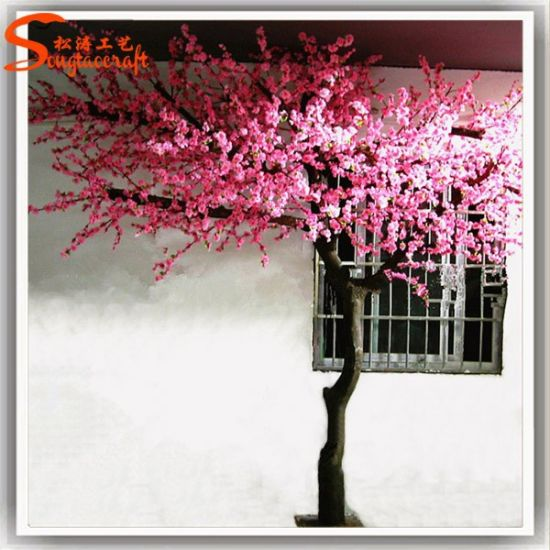 Distinctive Design Home Decor Artificial Tree Cherry Blossom