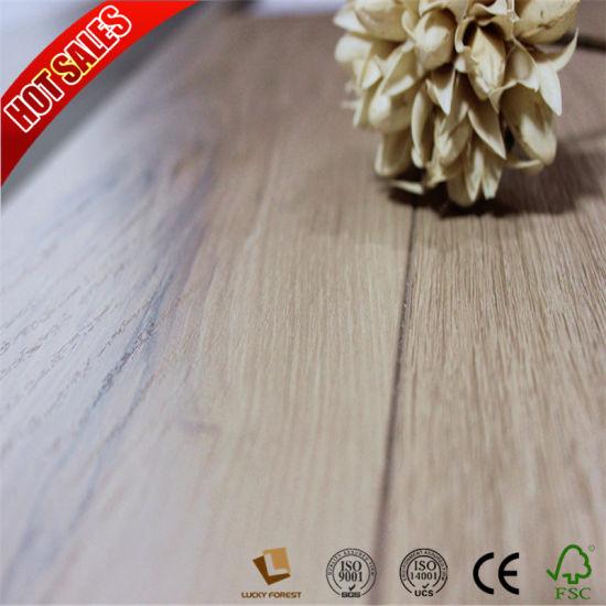 China Brazilian Cherry Wood High Gloss Laminate Flooring For Home