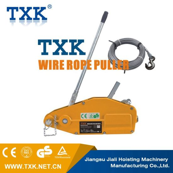 China 1600-5400kg Wire Rope Puller with Ce - China Wire Rope Puller ...