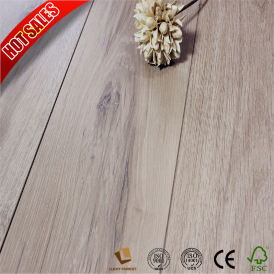 China Brazilian Cherry Wood High Gloss Laminate Flooring