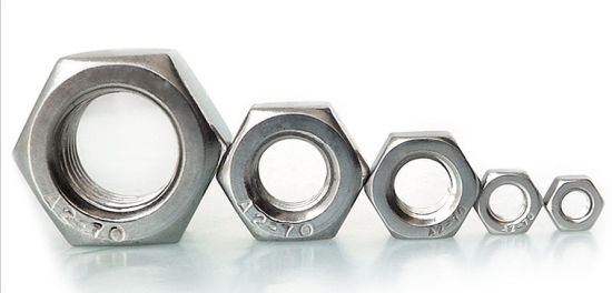 DIN934 Stainless Steel Hexagon Nut pictures & photos