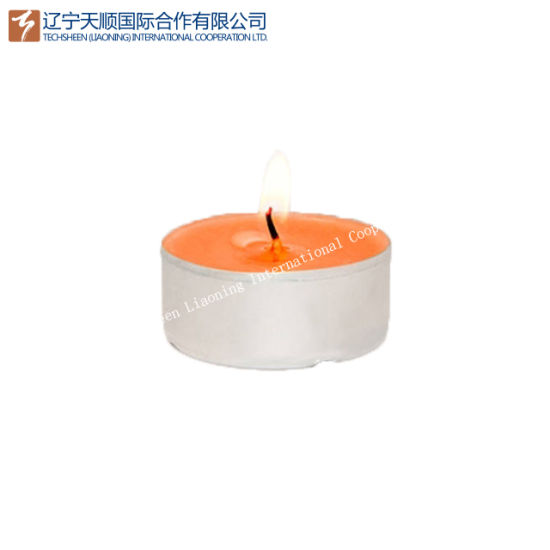 Color White Unscented Tealight Candle