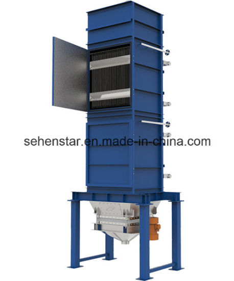 China Wide Channel Plate Heat Exchanger \