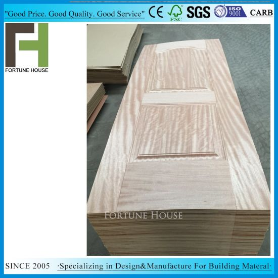 China Laminate Teak Veneer Wood Hdf Door Skins For Interior Door