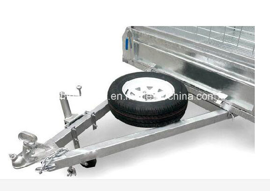Fully Welded Chequer Plate Box Trailer/ Cage Trailer /Farm Uitlity Car Trailer /Dump Trailer pictures & photos