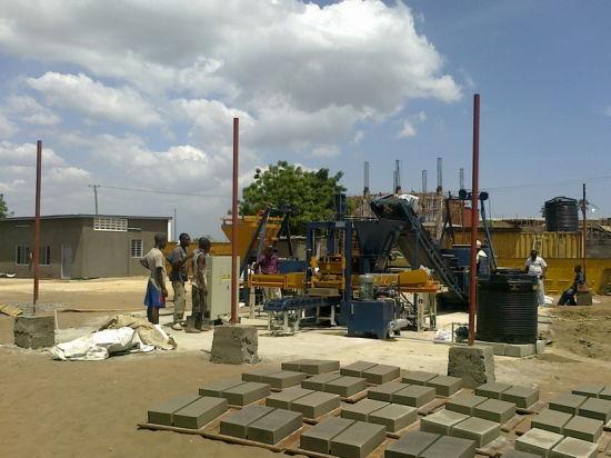 Durable Block Making Machine, Small Capacity Block Machine, Block Machine Making Unit