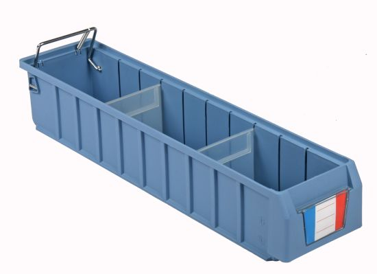 Industrial Plastic Shelving Tool Box Parts Storage Bin