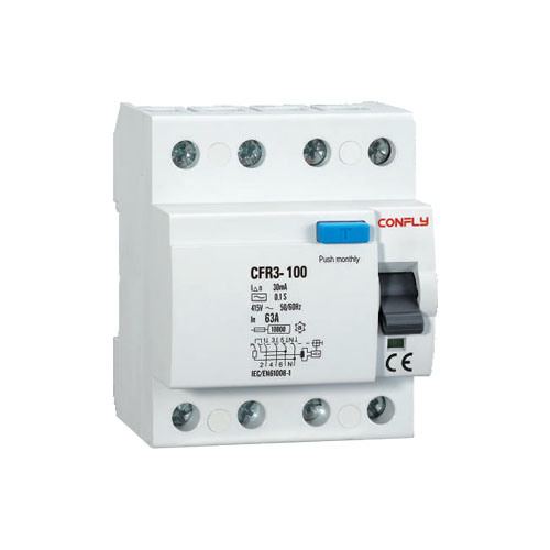 CFR3-100 Residual Current Circuit Breaker RCCB, ELCB pictures & photos