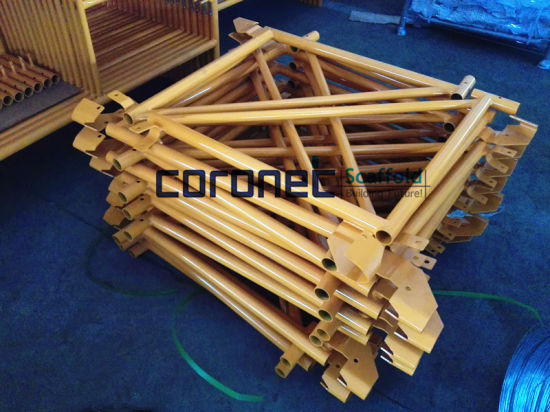ANSI Building Material Construction High Quality Powder Coated Side Bracket Frame System Scaffold (CSSB) pictures & photos