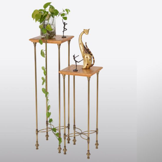 Classic Design Metal Bronze Display Stand for Exhibition