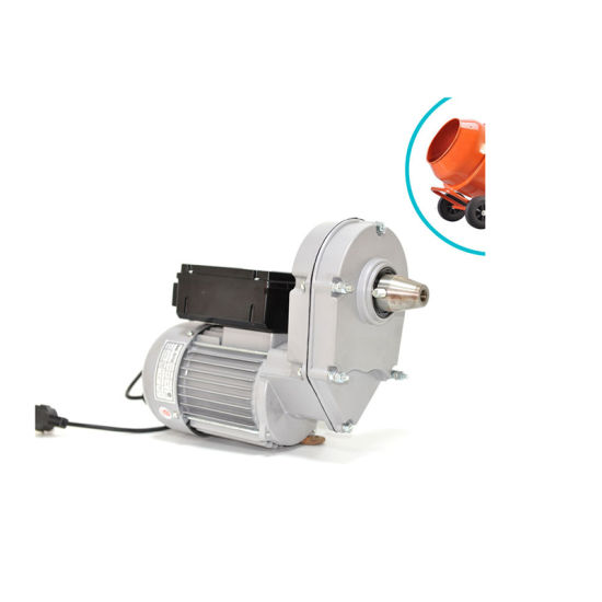 AC Single Phase Electric Gear Motor with Reducer Low Rpm