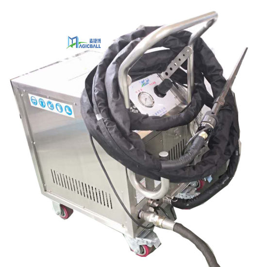 Rubber Decontamination Online Cleaning Large Industrial Equipment Cleaner Dry Ice Blasting Machine