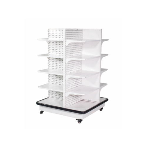 New Retail Store Display Supermarket Gondola Double Sided Robust Rack