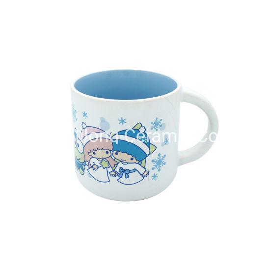 14oz Matte Glazed Promotion Ceramic Mug with Logo