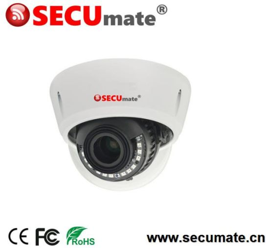 4MP H. 265 Starlight WDR Professional Vandalproof Dome Security CCTV IP Camera