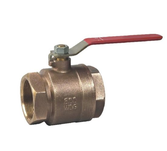 Bronze Equal Two Pieces Ball Valve